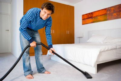 cleaning tips for men