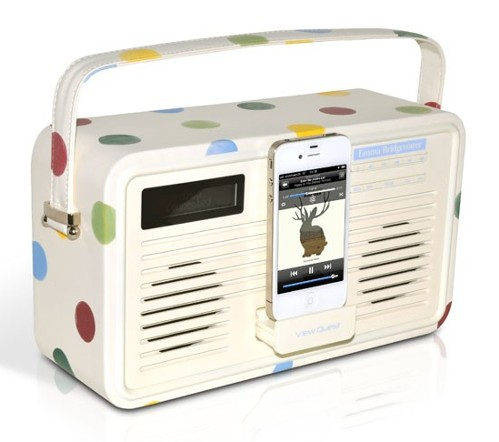 Polka Pot Radio By Emma Bridgewater
