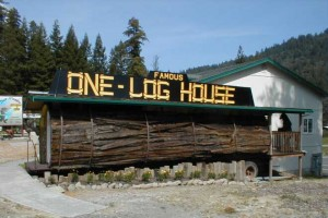 one-log-house