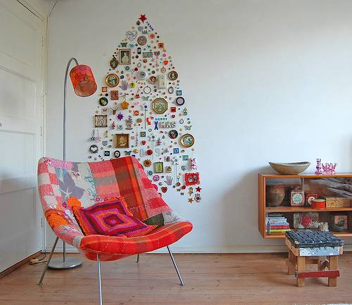 15 Non Traditional Christmas Tree Ideas: 15 Ideas For Alternative Christmas Trees