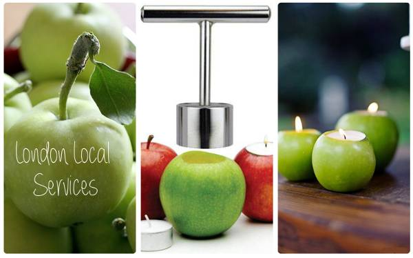 how-to-make-apple-candle-holder